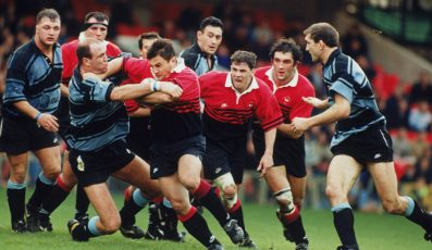 Champions Cup Final 1995-1996.