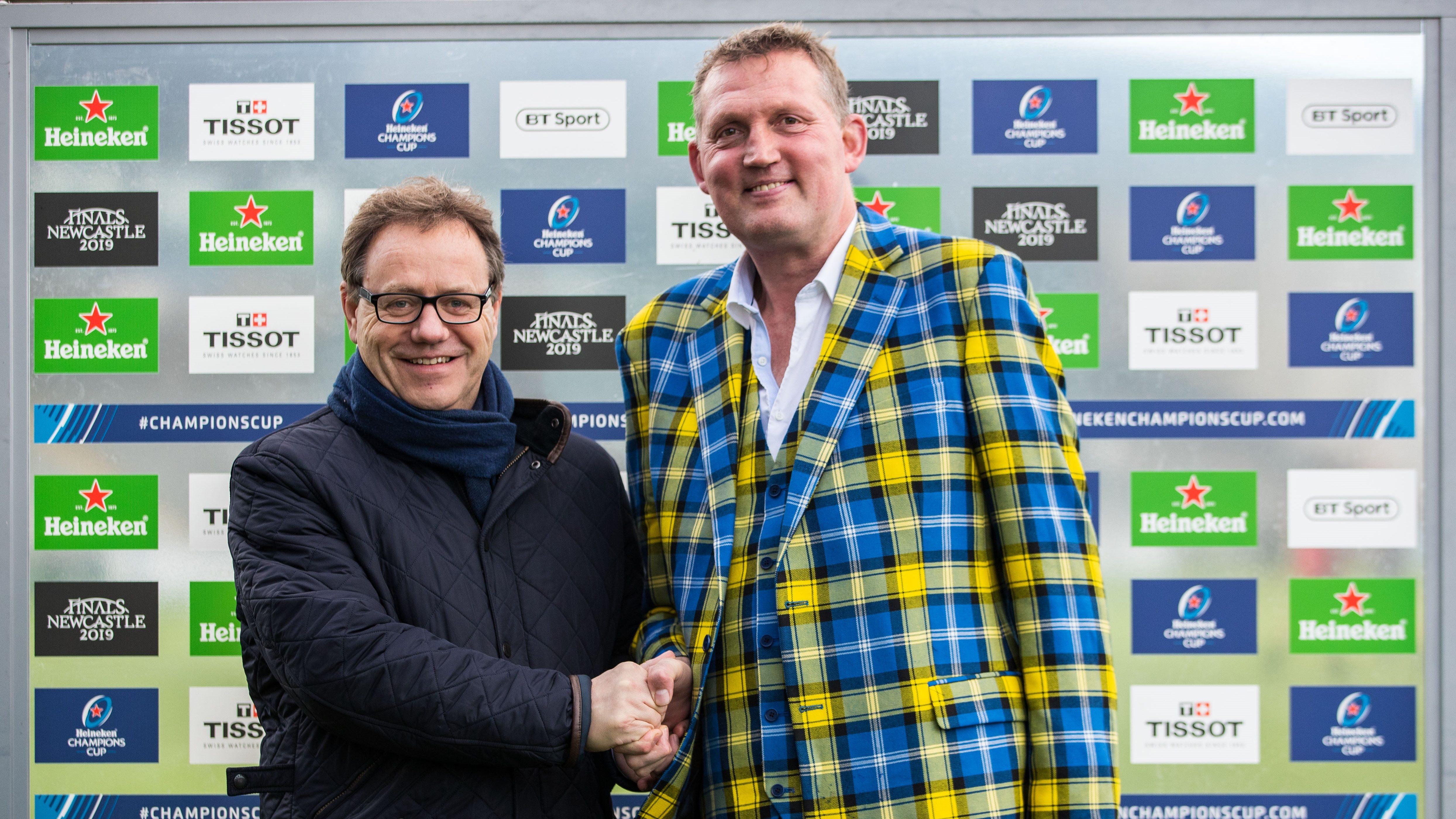 European club rugby finals to support My Name'5 Doddie Foundation
