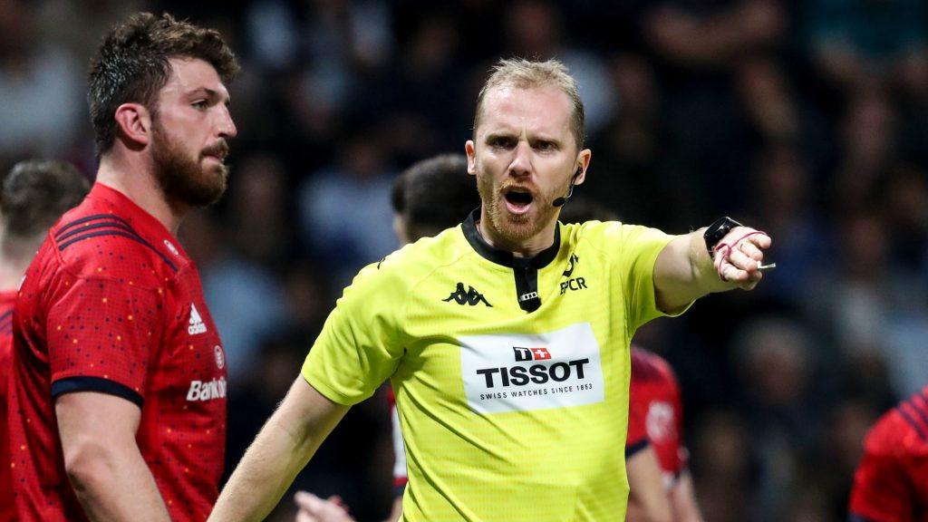 EPCR referee appointments – Round of 16