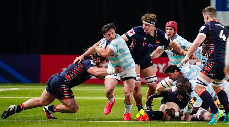 Le Racing 92 assure face à Edinburgh Rugby