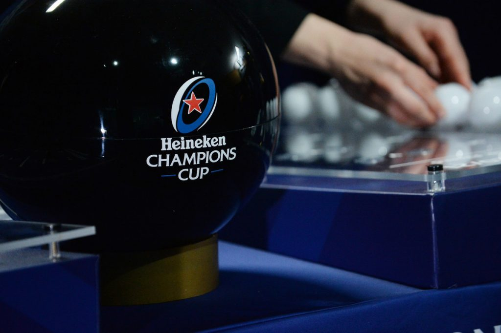 Heineken Champions Cup and Challenge Cup semi-final draws