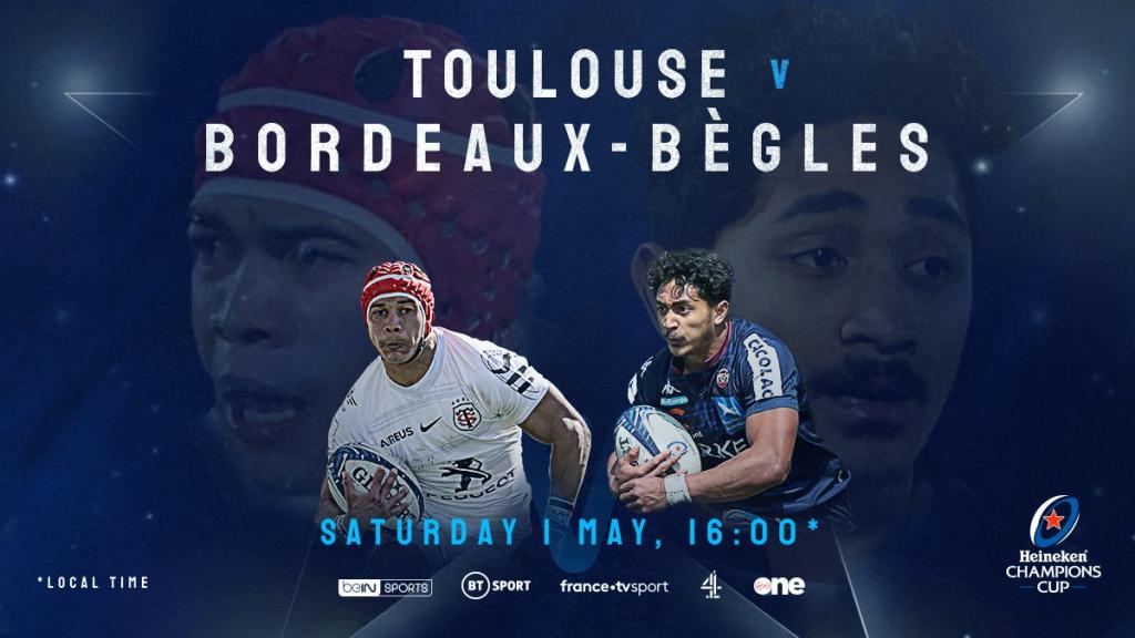 Toulouse aiming to spoil Bordeaux-Bègles' maiden semi-final