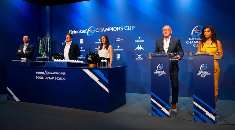 Le tirage au sort des poules de la Champions Cup marque la première étape vers la finale 2022 à Marseille