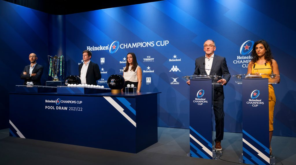 Heineken Champions Cup pool draw maps out first steps on road to Marseille 2022