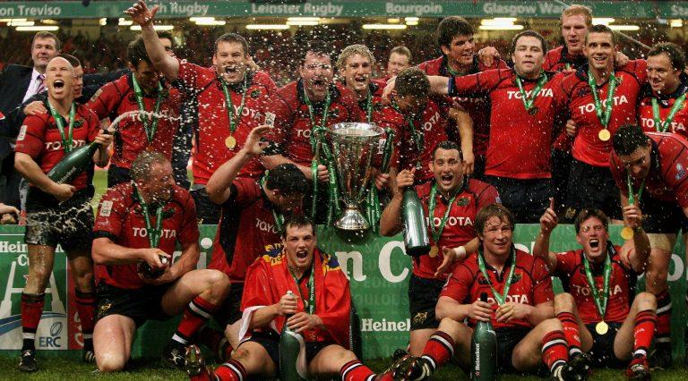 Le Munster Rugby en route vers la gloire européenne